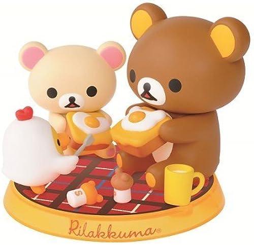 rot diorama figure lottery prize Hokkori - egg theme - lottery Rilakkuma most (japan import)