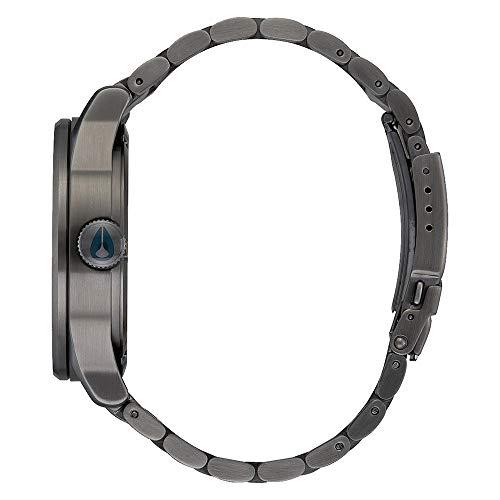 Nixon Orologio Digitale Quarzo Unisex Adulto con Cinturino in Acciaio Inox A3562983-00