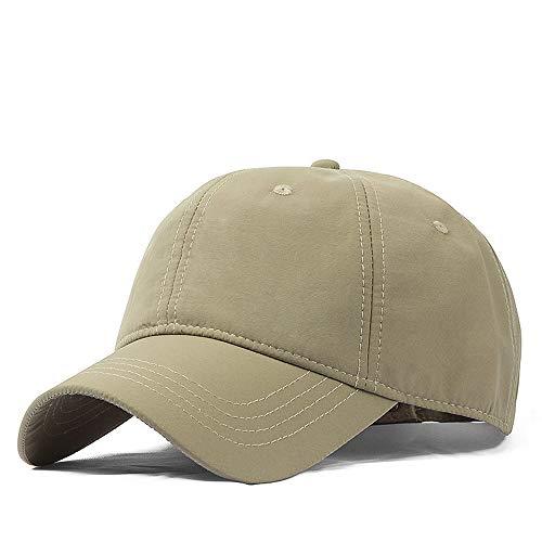 YSDNI Hut männlich Frühling und Sommer Sonnenblende großen Kopf um Baseballmütze lässig XL Outdoor schnell trocknende Kappe