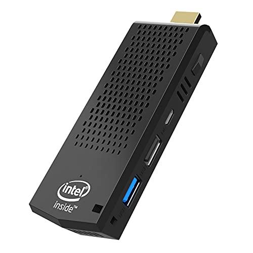 Mini PC Stick with Intel Atom x5-Z8350 Windows 10 Pro PC Stick 8G RAM 128G ROM Fanless Mini Computer Stick, 4K HD, Dual Band WiFi 2.4G/5.0G, Bluetooth 4.2