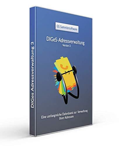 DIGeS Adressverwaltung 3 - Software zur Verwaltung von Adressen - Datenbank Programm zur Adress-Verwaltung