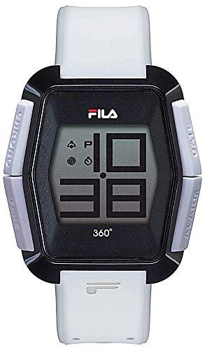 Fila Reloj Digital para Unisex Adultos de Cuarzo con Correa en Silicona FILA38-102-003