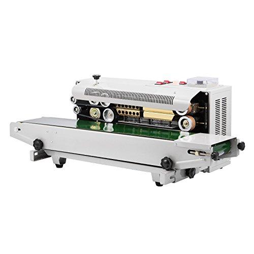 BuoQua FR-900 Orizzontale Nastro Continuo Sealer 500W Sigillatrice Professionale Elettrica Sealing Macchina...