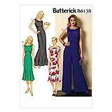 BUTTERICK B6130 Costura para Confeccionar Blusas, Trajes, Ve