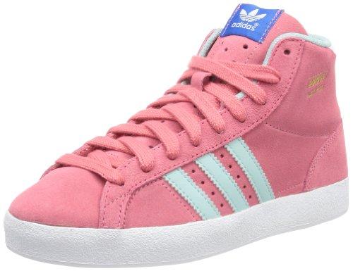 adidas Originals BASKET PROFI K, Sneaker bambina, Rosa (Pink (BLIPNK/CLEGR)), 38