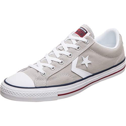 Converse Star Player Ox, Scarpe da Ginnastica Unisex-Adulto, Grigio, 45 EU