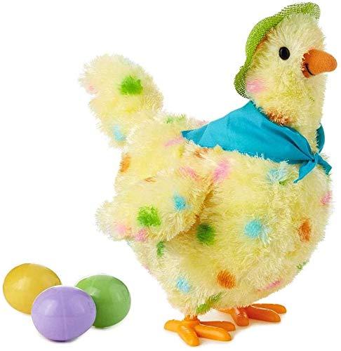 Fikujap Gallina, Los Huevos Ponen Juguete De Peluche De Juguete Debajo De Los Huevos, Huevos, Gallina, Juguete Divertido, Juguete, Muñeco De Juguete, Un Pollo