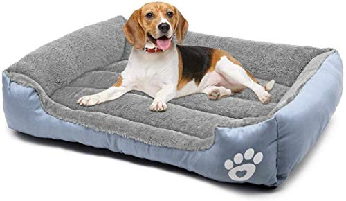 Cushion Bed For Dog, Cat Round Warm Calming Cuddler Puppy Sofa, Cat Cushion Bed Sleeping Bag Orthopedic Relief and Improved Sleep,Anti-Slip Bottom,Machine Washable (XXL)