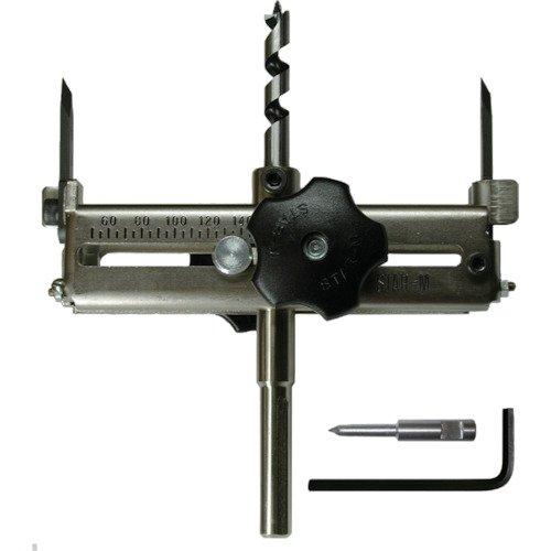 Star-M Kreisschneider mit Schnellverstellung Ø 60-200 mm