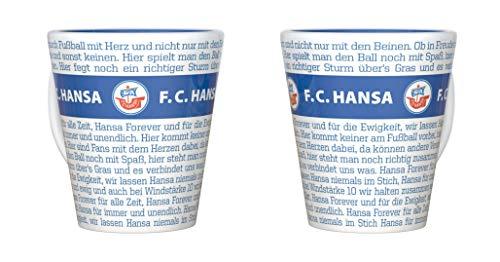 FC Hansa Rostock Tasse, Becher Hymne
