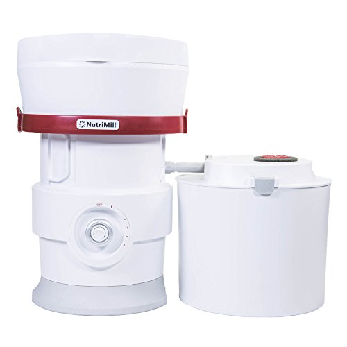 NutriMill Plus High-Speed Grain/Flour Mill - Newly Updated