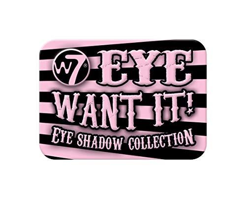 W7Eye Want It! Collezione palette ombretti, 10g.