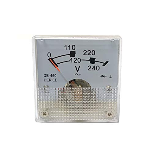 POWER PRODUCTS Panel Voltmeter DE-450 for Champion CPE 6875/5500 Watts Generator 120/240V AC