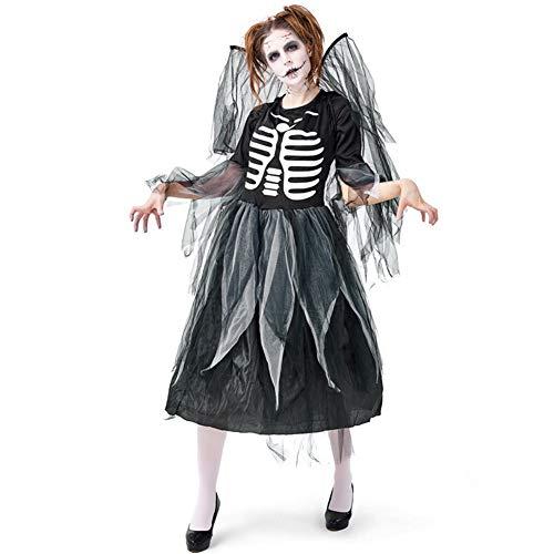 Halloween Cosplay Duivel Kostuum Fancy Jurk Dames Kant Fancy Jurk Kostuum voor Volwassen Kostuum Carnaval Kleding Donkere Engelen Uniform Net Rok