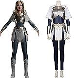 SKTE LOL Lux - Disfraz de cosplay para mujer y niña, disfraz de Halloween para carnaval (color: como se muestra, tamaño: XL)