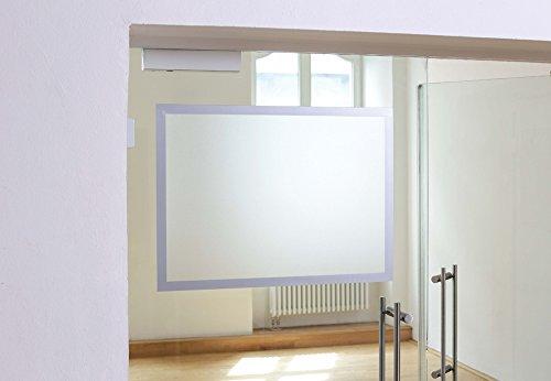 Durable 499523 Info-Rahmen Duraframe Poster (A2, selbstklebender Plakatrahmen mit Magnetverschluss) 1 Stück Silber