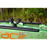 Yakattack RotoGrip Paddle Holder, Track Mount 9 Utilizes the Mighty Bold to Attach to Kayak Track 2.25 Inches Tall GearTrac Not Included