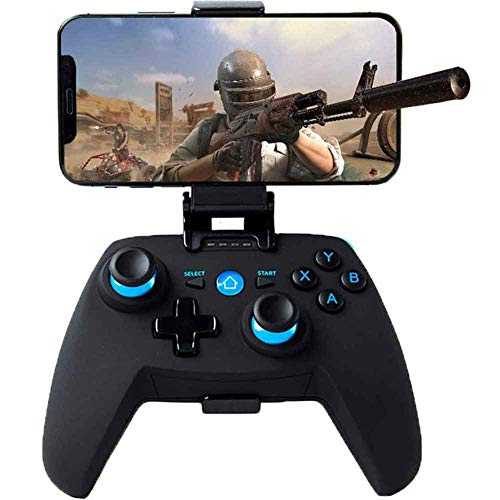 THESEUS Mobile Game Controller with Retractable Bracket, 2.4G Wireless...
