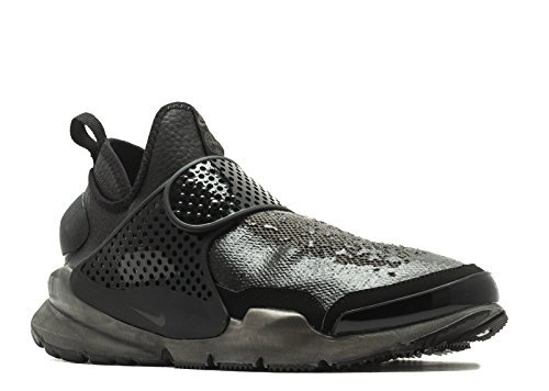 Nike Mens Stone Island Sock Dart Mid Black/Sail Fabric Size 12