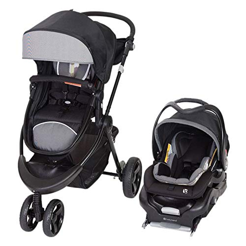 Baby Trend 1st Debut 3 Wheel Travel System Stroller Fashion Metric Print only Ships to The Lower 48 US States