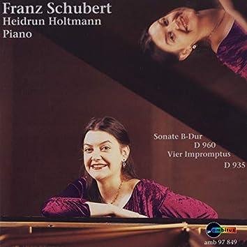 Franz Schubert (Sonate B-Dur, D 960 - Vier Impromptus, D 935)