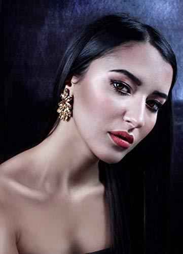 Braut Ohrringe Swarovski Kristall Eris - handgefertigt in Italien - Made in Italy- handgemacht - Mädchen Geschenk Mädchen - Geschenke für sie - Weihnachten