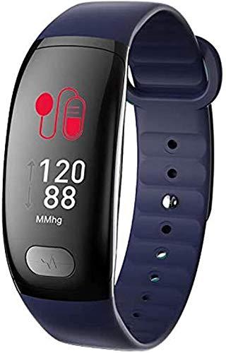 Smart Bracelet PPG Pedometer IP67 Waterproof Sports Watch Men s and Women s Smart Watches-Blue