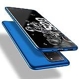 X-level Samsung Galaxy S20 Ultra Hülle, [Guardian Serie] Soft Flex TPU Hülle Superdünn Handyhülle Silikon Bumper Cover Schutz Tasche Schale Schutzhülle für Samsung Galaxy S20 Ultra 5G - Blau