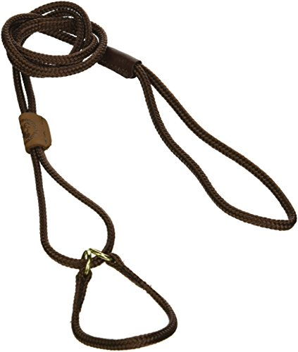 "Mendota 8"" Martingale Show Lead, Small, Dark Brown"