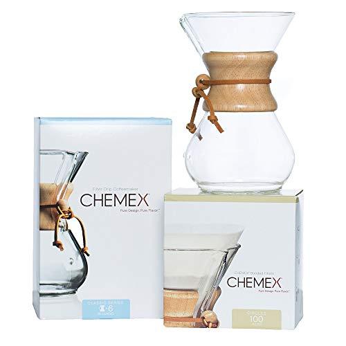 CHEMEX Bundle - 6-Cup Classic...