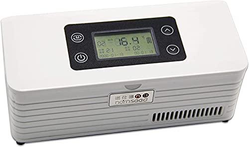 Qjkmgd 32 Hour Portable Insulin Refrigerator Travel Box Drug Reefer Mini Refrigerated Medicine Box USB Large Space: 170x46x26mm