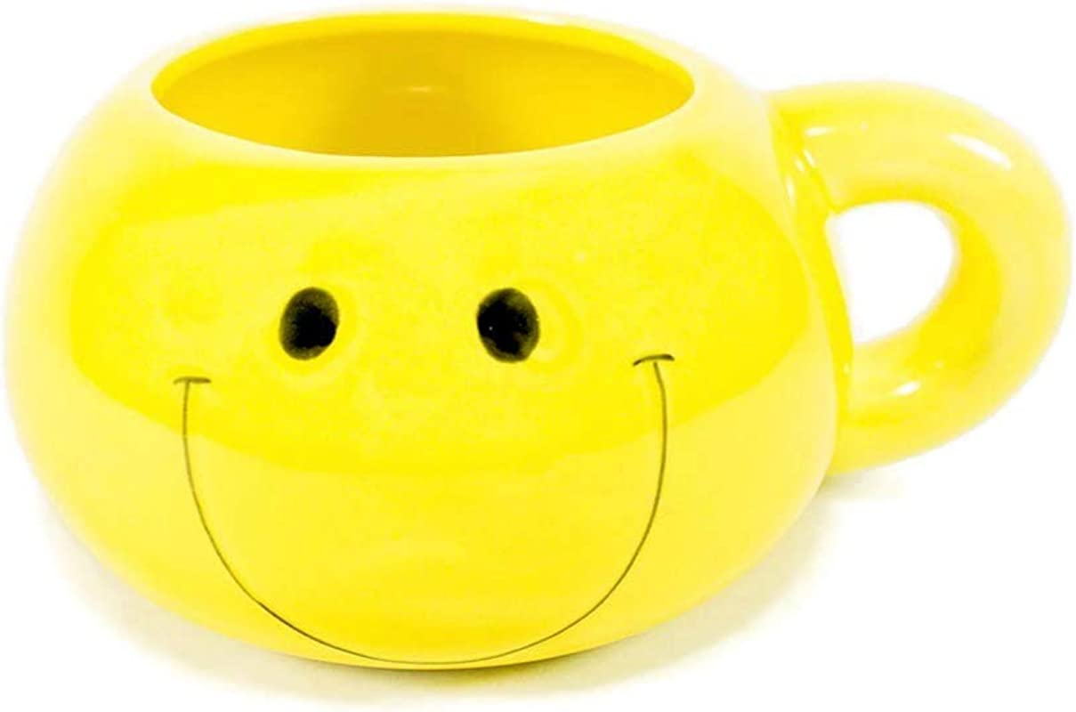 Fun Express Ceramic Smiley Face 16 Oz Mug