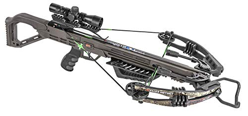 Killer Instinct MSCKI-1000 Lethal 405 fps Crossbow Bow Pro Package