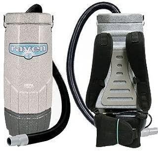 Sandia 70-1000 Avenger Raven, Backpack Vacuum, Machine Only, 802W, 112 CFM, 1.5 hp, 1-Stage Motor, 6 Quart