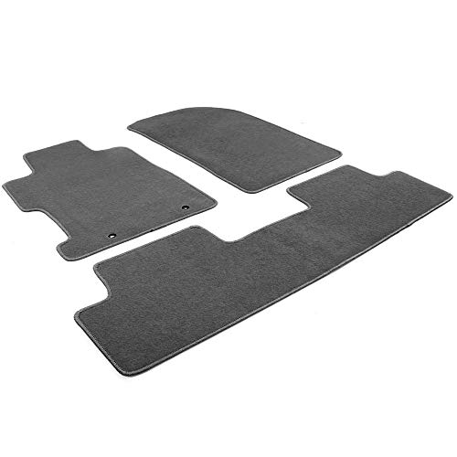 Honda Genuine Accessories 08P15-SNA-120B Gray Floor Mat for Select Civic Models