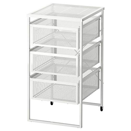 LENNART Ikea bianco, cassetti