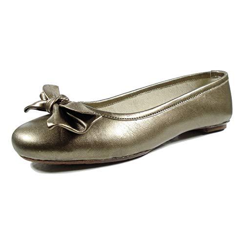 Ornela Brenti Damenschuhe Ballerina; Farbe: Braun; Größe: 40 EU; Obermaterial: Leder; Innenmaterial: Leder; Laufsohle: Leder