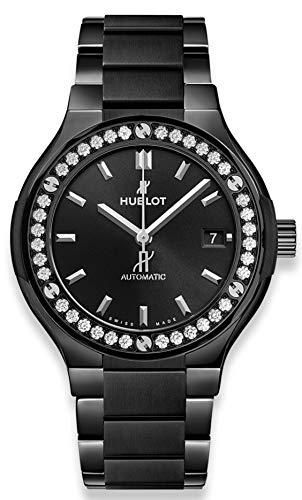 Hublot Classic Fusion Black Magic Bracelet Diamonds 38mm 568.cm.1470.cm.1204