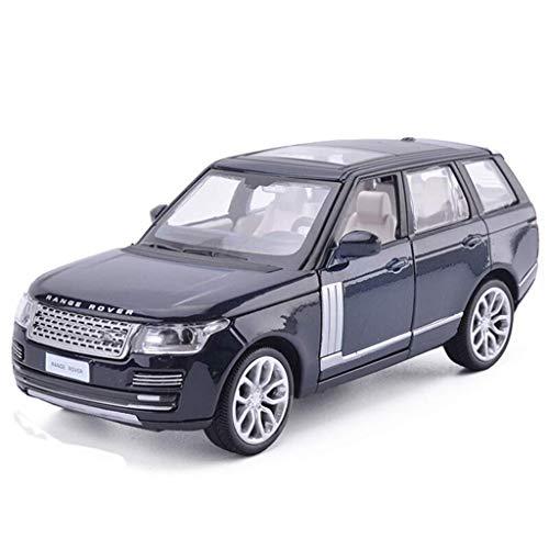 YGB Baby Kleinkind Neuheit Knebelspielzeug Spielen Lernspielzeug, ferngesteuertes Autospielzeug,Modellauto Land Rover Range Rover Geländewagen 1:32 Simulation Kinderserie Geschenkdekoration Legierun