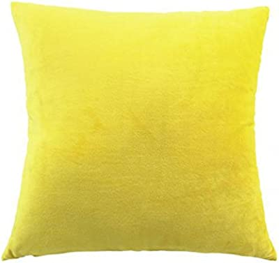 Amazon.com: Ihpbaont Linen Square Throw Pillow Decorative ...