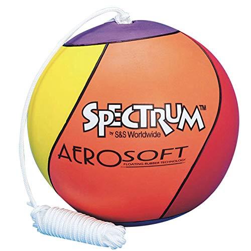 S&S Worldwide Spectrum Rainbow Soft Tetherball