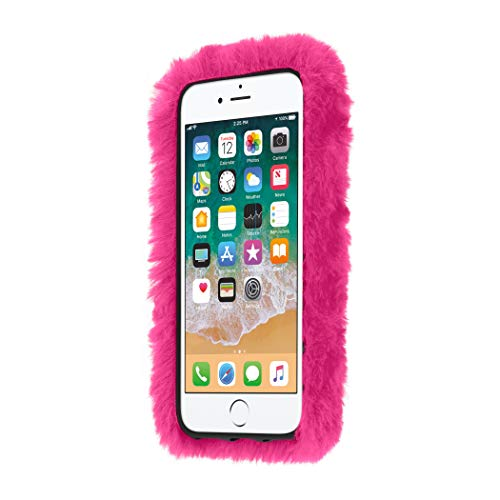 Kendall + Kylie JENNER HOT PINK Furry Case for iPhone 8 7 6 and 6s