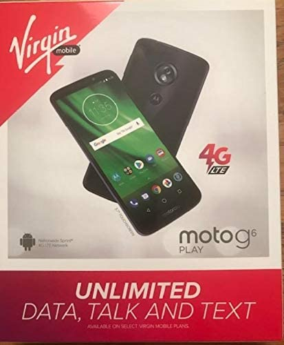 Motorola MOT19227BVB G6 Play 16GB Smartpho Mobile Prepaid Popular Under blast sales brand in the world Virgin