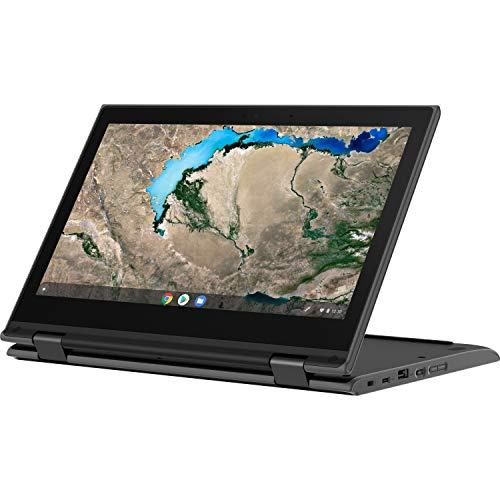 Product Image 1: Lenovo 300e Chromebook 2nd Gen 82CE0000US 11.6″ Touchscreen 2 in 1 Chromebook – HD – 1366 x 768 – AMD A-Series A4-9120C Dual-core (2 Core) 1.60 GHz – 4 GB RAM – 32 GB Flash Memory – Black