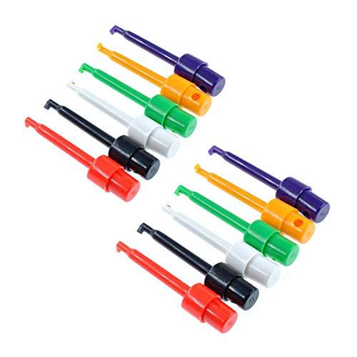 Testsonde für Zange mit Haken, einfach, große Größe, rund, für Elektronik-Test (6 Farben)