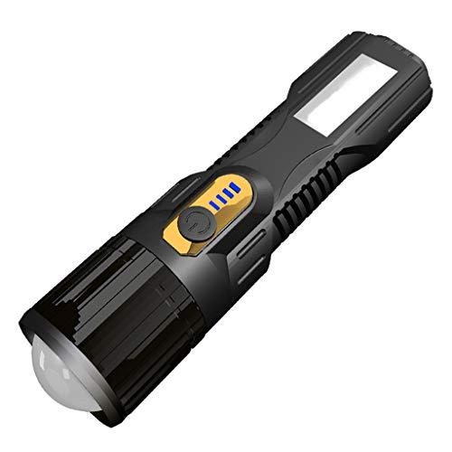 Batterie Rechargeable Lampe à main Lampe de poche Phare de travail lumière 19LED