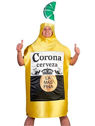 DISBACANAL Disfraz de Cerveza Corona - XL