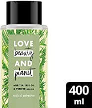 Love Beauty And Planet Shampoo Tea Tree Oil & Vetiver, 400ml