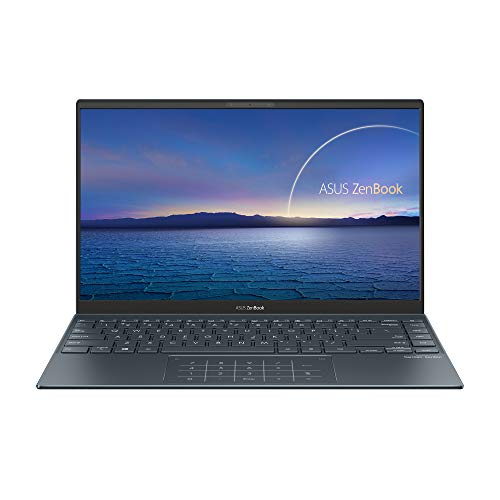 ASUS ZenBook 14 UX425EA-BM136T - Ordenador Portátil de  Full HD (Intel Core i5-1135G7, 16GB RAM, 512GB SSD, Intel Iris Xe Graphics, Windows 10 Home) Gris Pino-Teclado QWERTY español