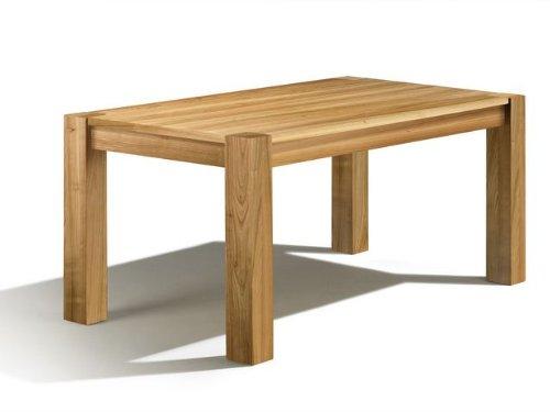 Arica Esstisch, Kirschbaum, 170x100x76 cm, Auszug: 70 cm